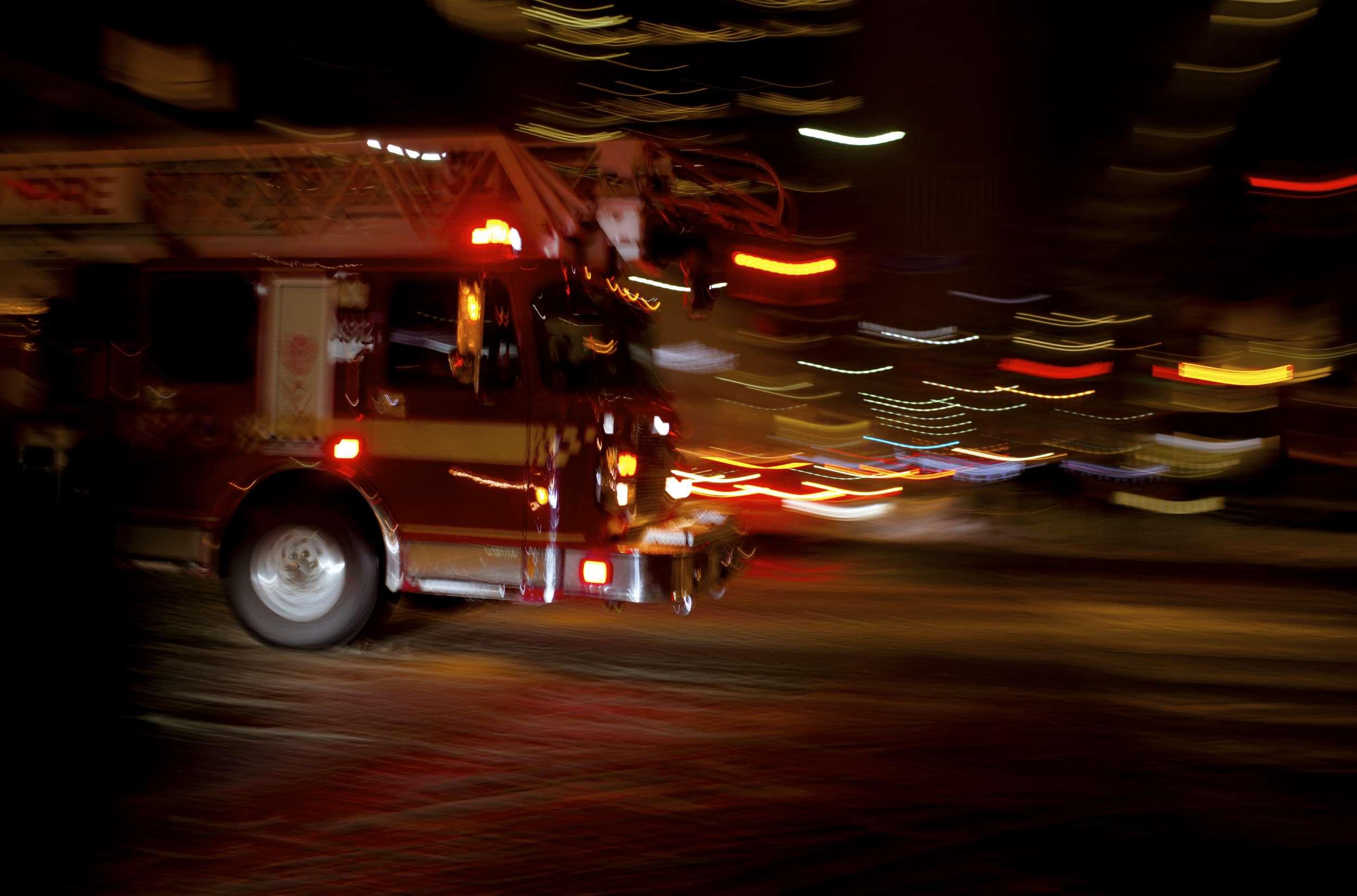 Fire Engine Hose Alarm System